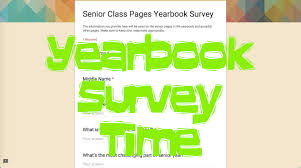 Yearbook Survey