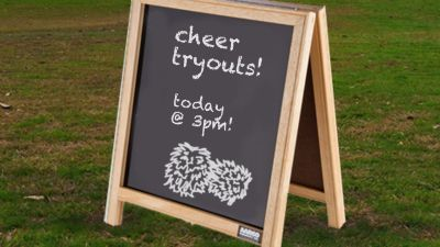 MS Cheerleader Tryouts