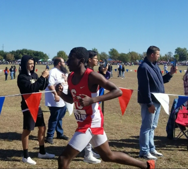 David Robinson runs personal best time at the UIL State Cross Country Meet
