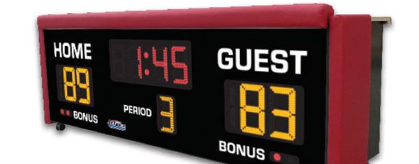 Volleyball & Basketball Score Table Ad Information