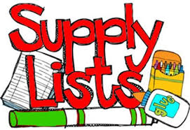 2018-19 School Supply List for Elementary/Middle School