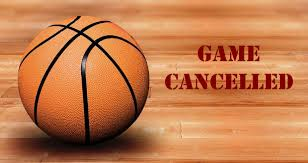 Boys and Girls JV Basketball games cancelled for Friday January 15.
